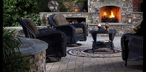 Picture of paver patio