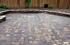 Picture paver patio