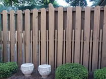 Image - six foot Greenville wood fence - decorative