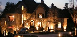 image of landscape lighting Greenville