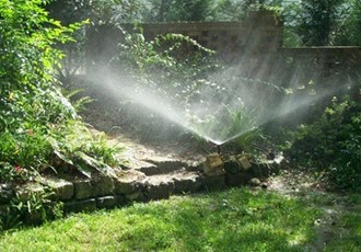 Picture of popup sprinkler
