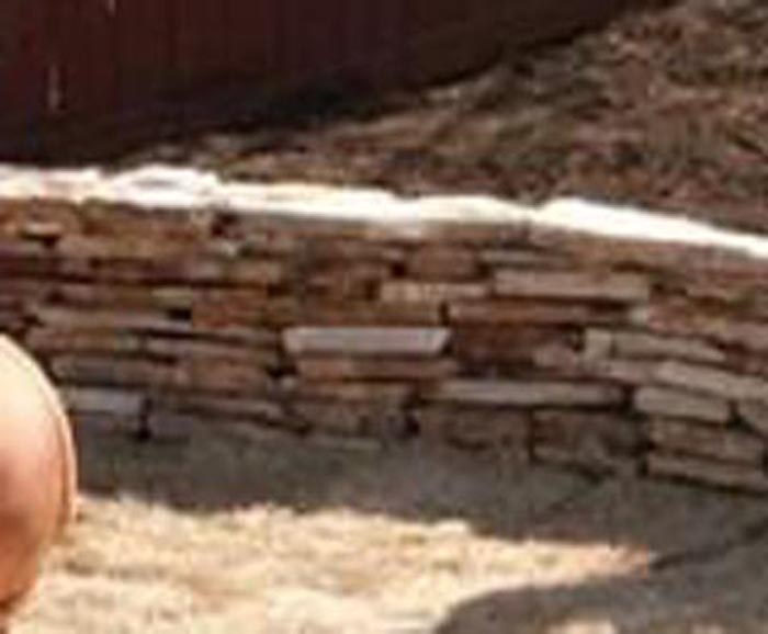 Picture of Stacked stone wall
