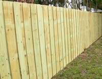 Image - Greenville Wooden privacy fence